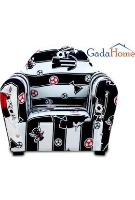 Gadahome Çocuk Koltuğu Siyah Beyaz (Bebek Koltuğu)