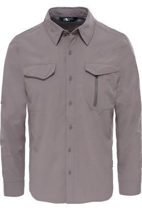 The North Face T92Xjwnxl M L/S Sequoia Shirt Erkek Gömlek