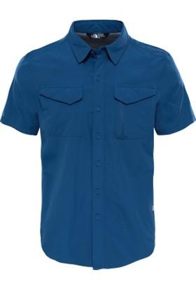 The North Face T92Xjxhdc M S/S Sequoia Shirt Erkek Gömlek