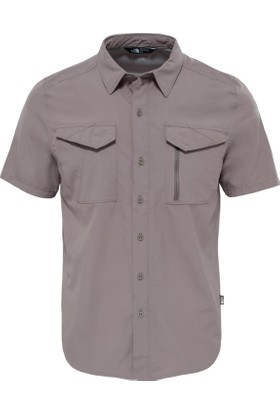 The North Face T92Xjxnxl M S/S Sequoia Shirt Erkek Gömlek