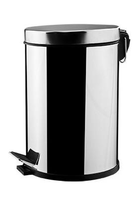 RST® Mannesmann Pedallı Çöp Kovası - 3Litre Market Tipi - 304 Paslanmaz Kalite