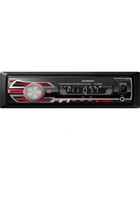 Jameson JS-2999 BT 4x50 W (USB-SD Kart - FM Radyo - Kumanda) Bluetooth'lu Oto Teyp