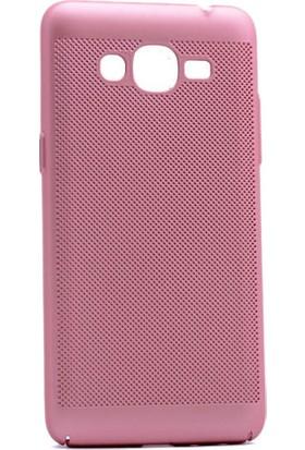 Kny Samsung Galaxy Grand Prime Plus Kılıf Delikli Sert Rubber+Cam