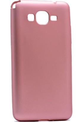 Kny Samsung Galaxy J2 Prime Kılıf Ultra İnce Mat Silikon+Cam