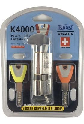 Keso Yüksek Güvenlikli Kilit & Silindir Tokmaklı - K4000-T