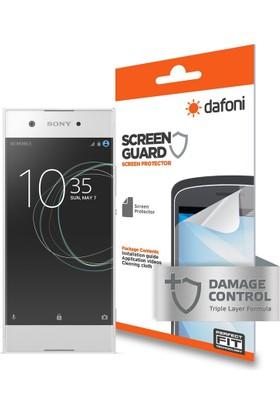 Dafoni Sony Xperia XA1 Darbe Emici Full Ekran Koruyucu Film