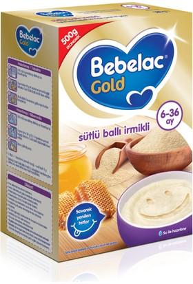 Bebelac Gold Sütlü Ballı İrmikli Kaşık Maması 500 gr