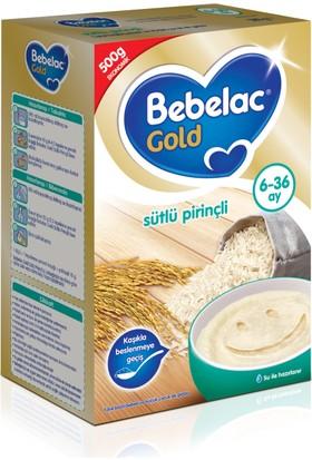 Bebelac Sütlü Pirinçli Tahıl Bazlı Kaşık Maması 500 gr