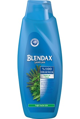 Blendax Bitki Özlü Şampuan 650 ML