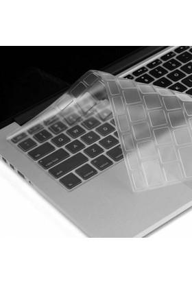 Alaca Apple Macbook Renkli Silikon Klavye Koruyucu İngilizce