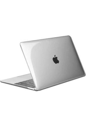 Alaca Apple Macbook Aır 13.3 Kılıf 2İn1 Parlak Crystal