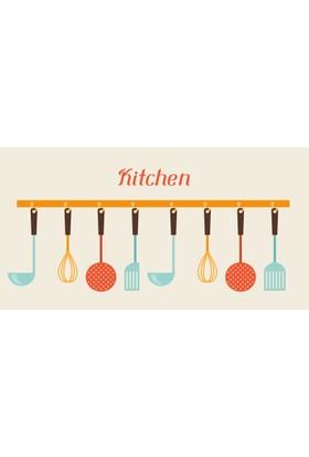 Samur Halı Digisamur Bukle Kitchen Mat - Mutfak Halısı 907