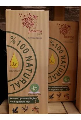 Proderm Gold Kuru ve Yıpranmış Saçlar İçin Saç Bakım Yağı 150 ml