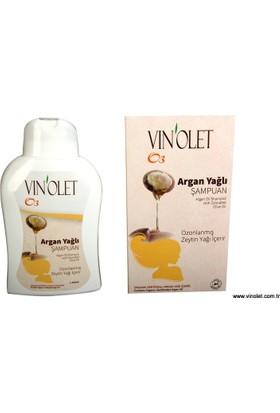 Vinolet Argan Yağlı Saç Bakım Şampuanı 350 ml 3 Kutu