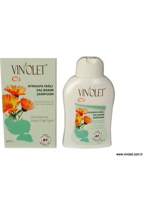Vinolet Ayni Safa Yağlı Saç Bakım Şampuanı 350 ml 3 Kutu