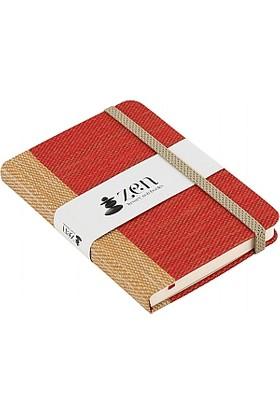 Zen Defter Mixed Sarı Kırmızı