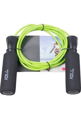 Fox fitness ZJ-138 Ağırlıklı Atlama İpi Yeşil