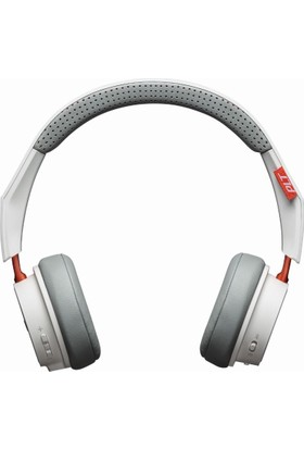 Plantronics BackBeat 500 Kablosuz + Kablolu Kulaklık BEYAZ (Çift Telefon Desteği)