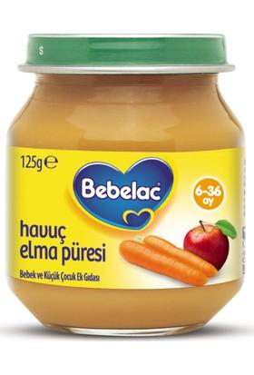 Bebelac Havuç Elma Püreli Kavanoz Maması 125 gr
