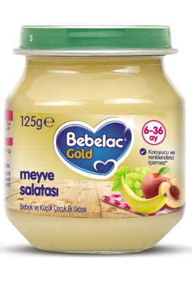 Bebelac Gold Meyve Salatası Kavanoz Maması 125 gr