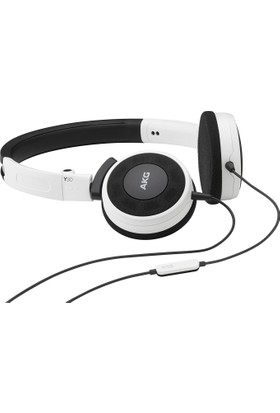 AKG Y30U Mikrofonlu Kulaküstü Kulaklık Beyaz