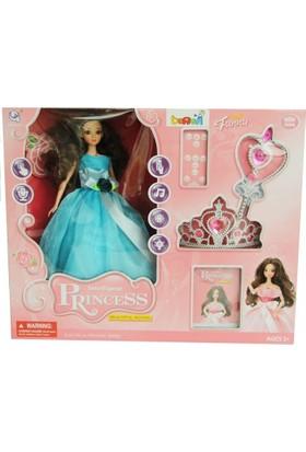 Trend Kumandalı Asalı Mavi Prenses Sesli Bebek