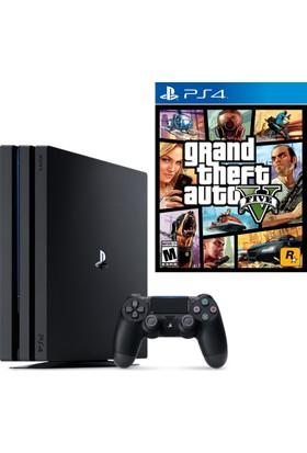 Sony Playstation 4 Pro 1 Tb ( Ps4 Pro ) + Ps4 Gta 5