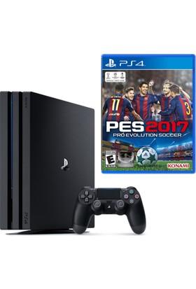 Sony Playstation 4 Pro 1 Tb ( Ps4 Pro ) + Ps4 Pes 2017