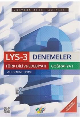 FDD LYS-3 Denemeler Türk Dili ve Edebiyatı Coğrafya-1 6'lı Deneme Sınavı