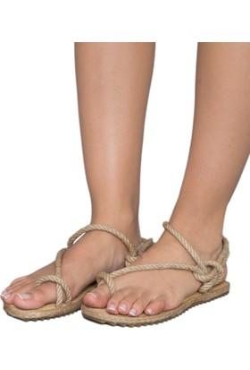 Gio&Mi F2 Bej Sandalet