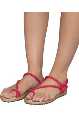 Gio&Mi F2 Kırmızı Sandalet
