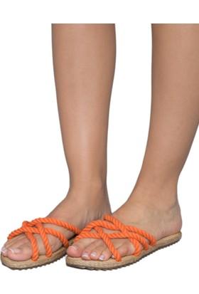 Gio&Mi F6 Turuncu Sandalet