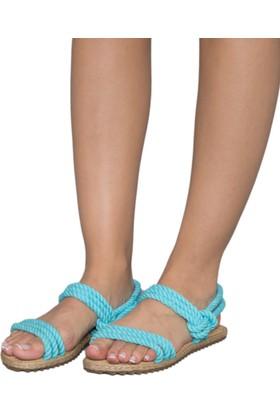 Gio&Mi F7 Turkuaz Sandalet