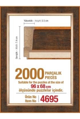 Heidi 4695 2000 Parça Puzzle Çerçevesi