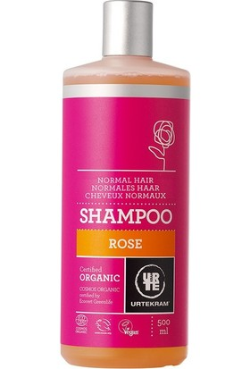 Urtekram Gül Özlü Şampuan - Normal Saçlar İçin 500 ml.