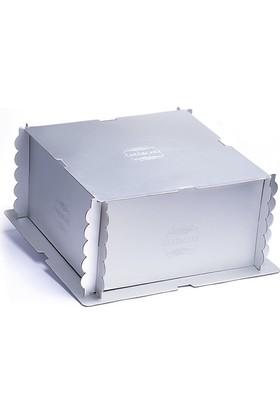 Pastdizayn Gümüş Pasta Kutusu