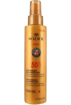 Nuxe Sun Spf 50 Faktör 150 ml Yüz ve Vücut için Güneş Kremi