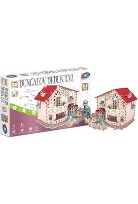 Pal Cubic Fun 3D Puzzle Bungalov Bebek Evi