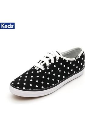 Keds Ky46149E Champion Cvo Bk/Wh P Dots Ayakkabı