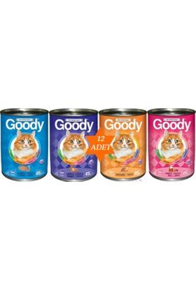 Goody 12 Adet Karışık Kedi Konservesi
