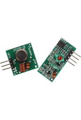 Rf Alıcı Verici Modül 433 Mhz Transmitter Receiver Arduino Pıc