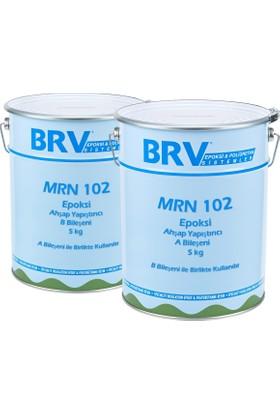 Brv Mrn-102 Epoksi Ahşap Yapıştırıcı, İki Bileşenli, Solventsiz