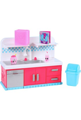 Shopkins Cicibiciler Sparkle Clean Washer Şefler Kulübü Oyun Seti