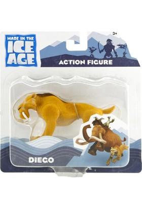 Buz Devri Ice Age 4 Diego Figür 10 cm