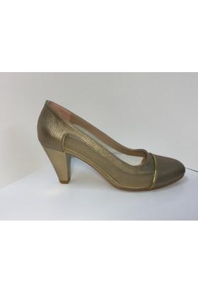 Stella di More 2337 Lavazza Gold Fileli Topuklu Ayakkabı