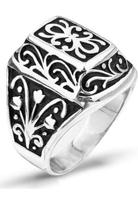 Takıhan 925 Ayar Gümüş Lisanslı Kurtlar Vadisi Yüzüğü