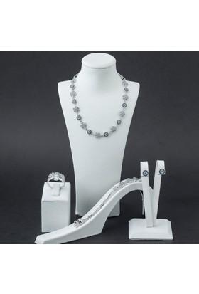 Takıhan 925 Ayar Gümüş Kar Tanesi Model Set