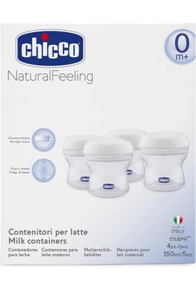 Chicco Süt Saklama Kapları-Naturalfeeling