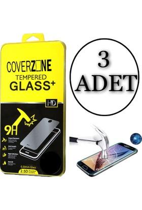 Coverzone Asus Zenfone 3 Max 5,2'' Zc520Tl Tempered Cam Koruyucu 3 Adet