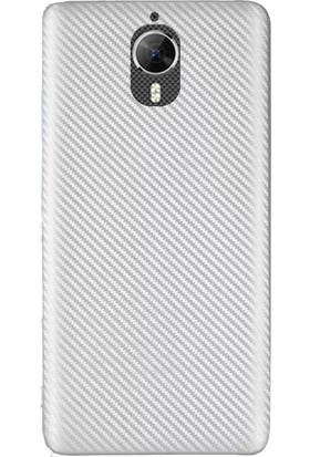 Coverzone General Mobile Gm5 Plus Kılıf Karbon Silikon + 3D Araç Kokusu